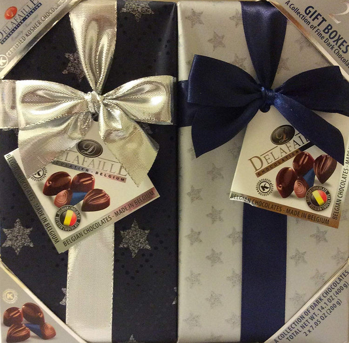 DELAFAILLE Premium Filled Quality Belgian Dark Chocolate  - Mitzvahland.com All your Judaica Needs!