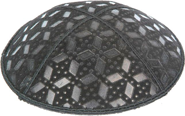 Rocky Road Embossed Kippah