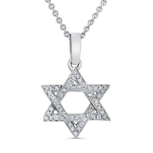 Jewish Diamond Star of David Pendent Jewelry - Mitzvahland.com All your Judaica Needs!