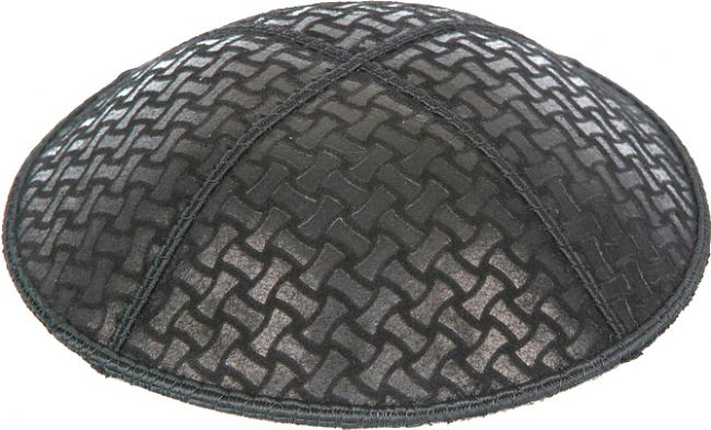 Chain Link Embossed Kippah Kippot / Yarmulkes - Mitzvahland.com All your Judaica Needs!