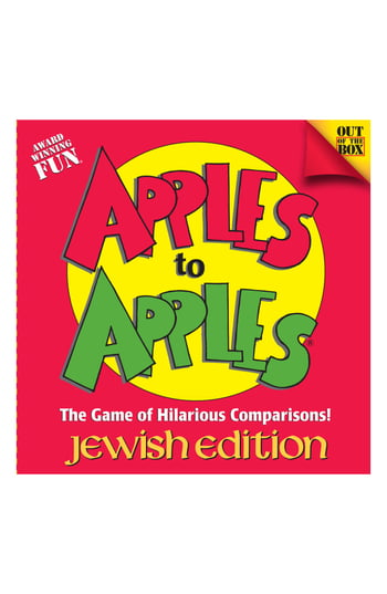 Apples To Apples Jewish Edition - Free Shipping