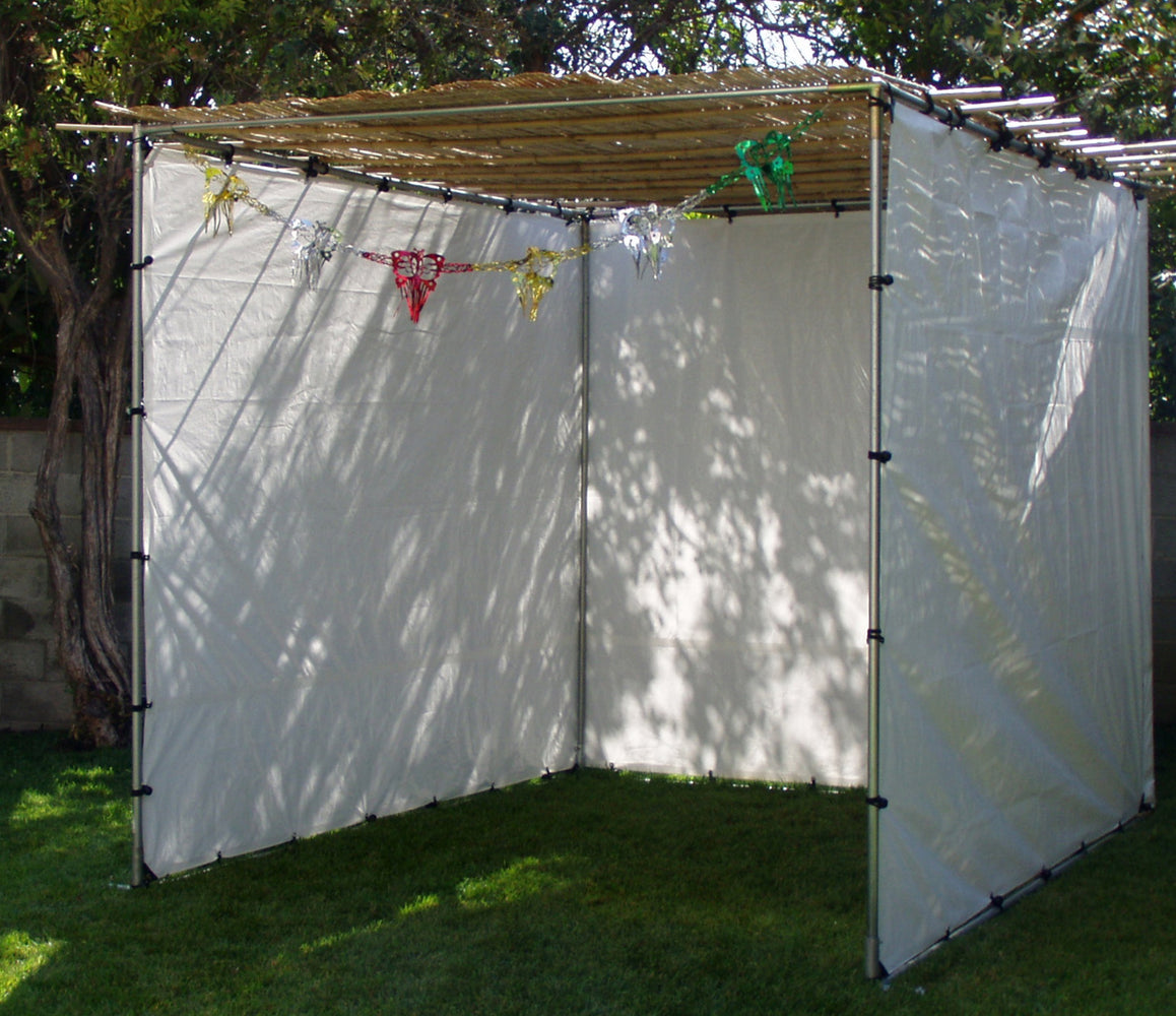 Basic Sukkah 8 x 10 Basic Sukkah - Los Angeles Area ONLY - Mitzvahland.com All your Judaica Needs!