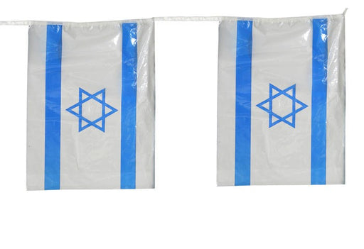 Israel Flag Chain Sukkah Decorations - Mitzvahland.com All your Judaica Needs!