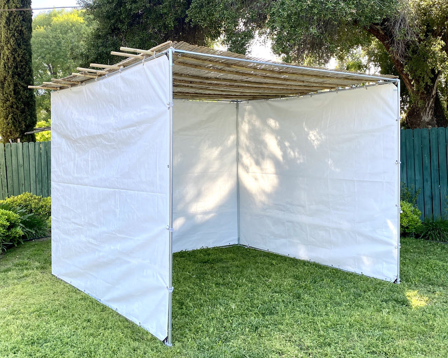 Sukkah Kits 8 x 15  Easy Compact Sukah - Certified Kosher