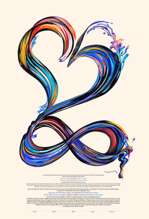 Infinite Love Ketubah