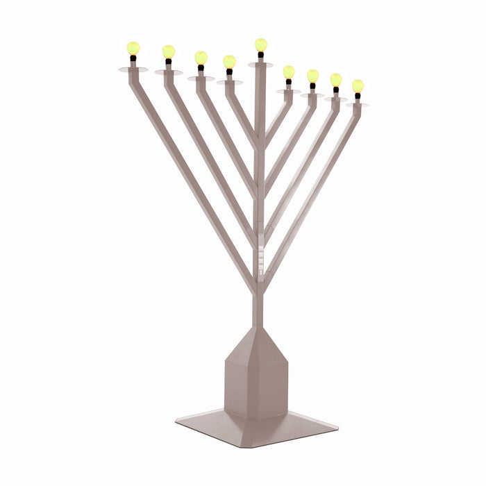 Large Electric Menorah Display 9ft - Indoor Outdoor Use Chanukah