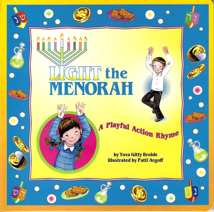 Light the Menorah – A Playful Action Rhyme