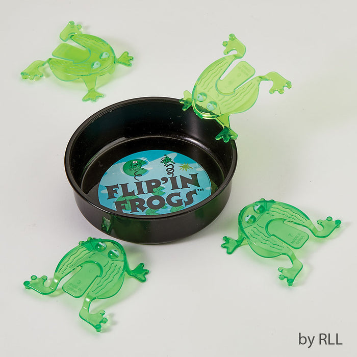 Set of 4 Passover Flip' In Frogs