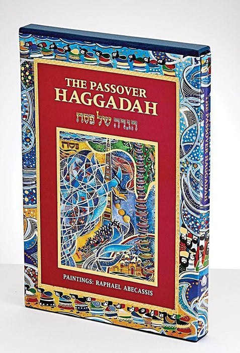 Artistic Passover Haggadah, Embellished Jewish Art Books / Seforim - Mitzvahland.com All your Judaica Needs!