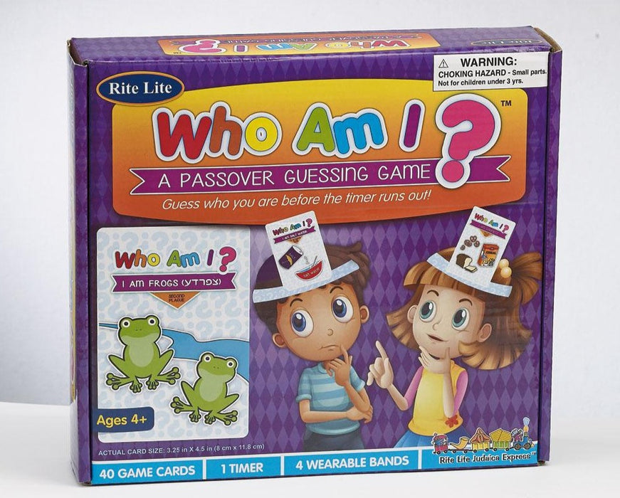 Who Am I ?  A Passover Guessing Game