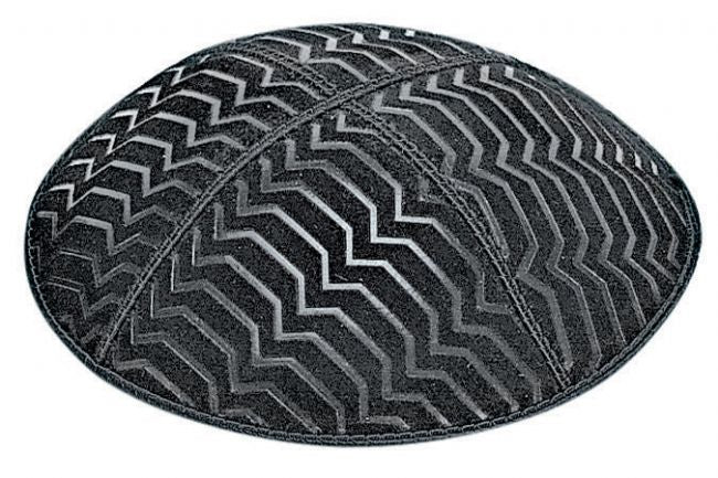 BE167 Embossed Kippah Kippot / Yarmulkes - Mitzvahland.com All your Judaica Needs!