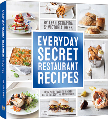 Everyday Secret Restaurant Recipes Books / Seforim - Mitzvahland.com All your Judaica Needs!