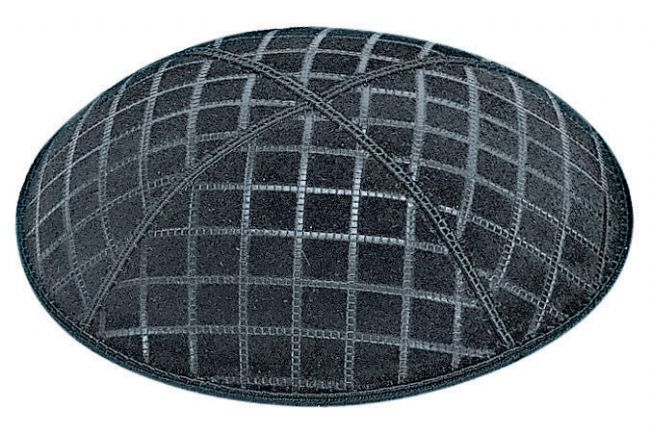 Quilted Embossed Kippah
