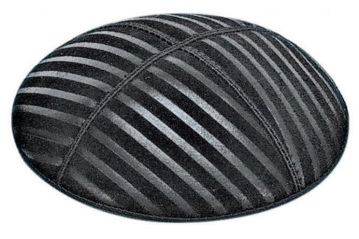 Wide Lines Embossed Kippah