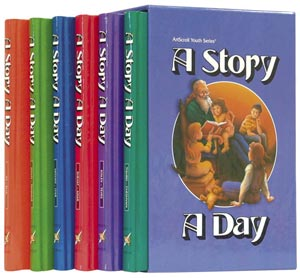 A Story A Day 6 Volume set Children's - Mitzvahland.com All your Judaica Needs!