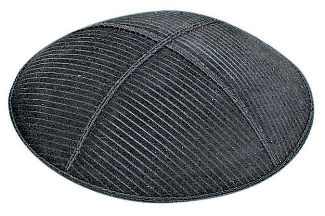 Thin Lines Embossed Kippah