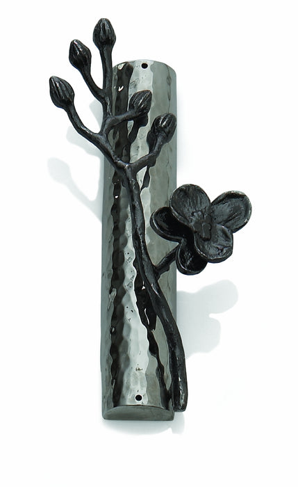 Black Orchid Mezuzah Mezuzah Free Shipping - Mitzvahland.com All your Judaica Needs!