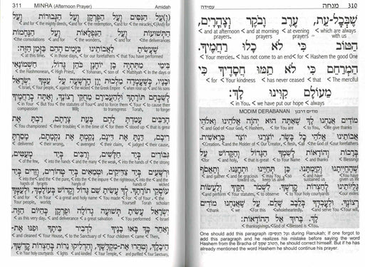 Siddur Sephardic with English Interlinear Translation  Weekday and Shabat  - Hebrew and English