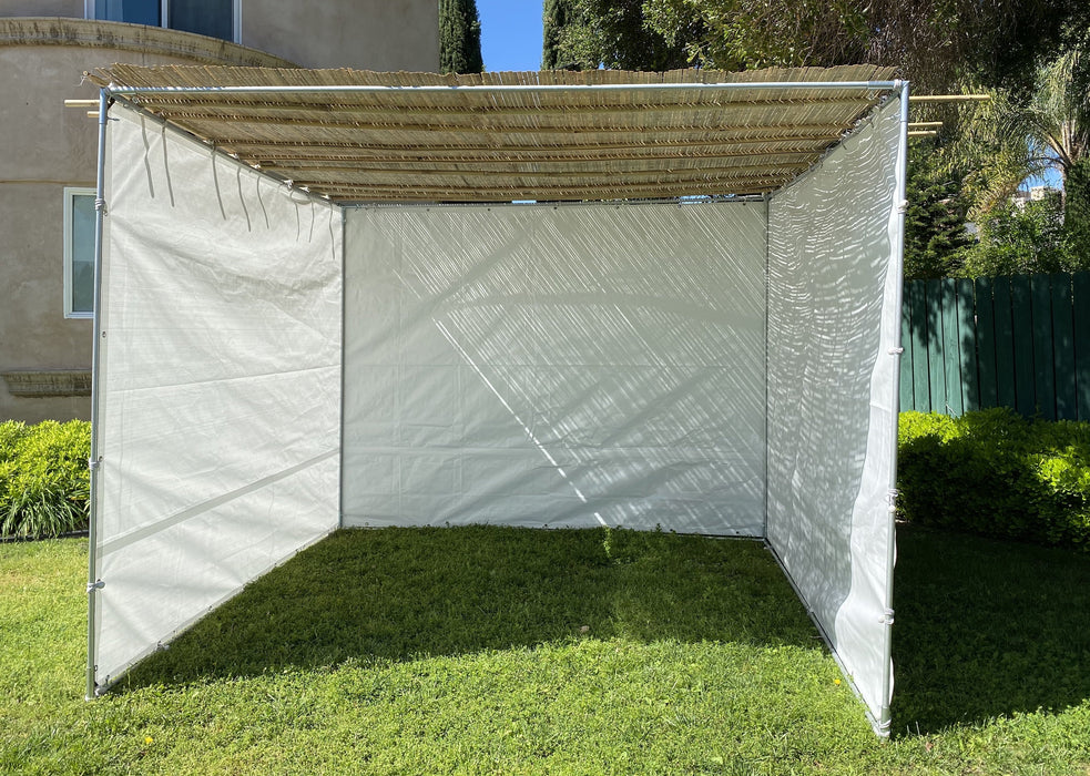 Sukkah Kits 15 x 15 Easy Compact Sukah - Certified Kosher