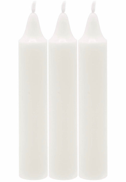 Shabbat Candles - 72 ct  White Shabbos Candles- 3 Hours - Free Shipping