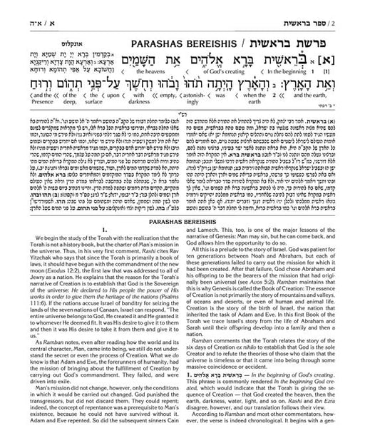 Interlinear Chumash 5 Volume Slipcased Set