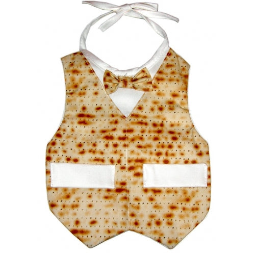 Matzah Corporate Boy Baby Bib - Mitzvahland.com
