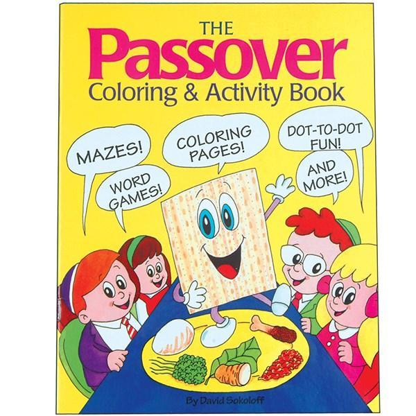 Passover Coloring and Activity Book