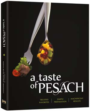 A Taste of Pesach Passover Cookbooks - Mitzvahland.com All your Judaica Needs!