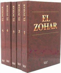 El Zohar  Spanish 5 Volume Set