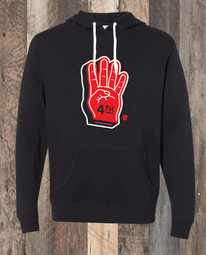4th Quarter Hoodie - Black