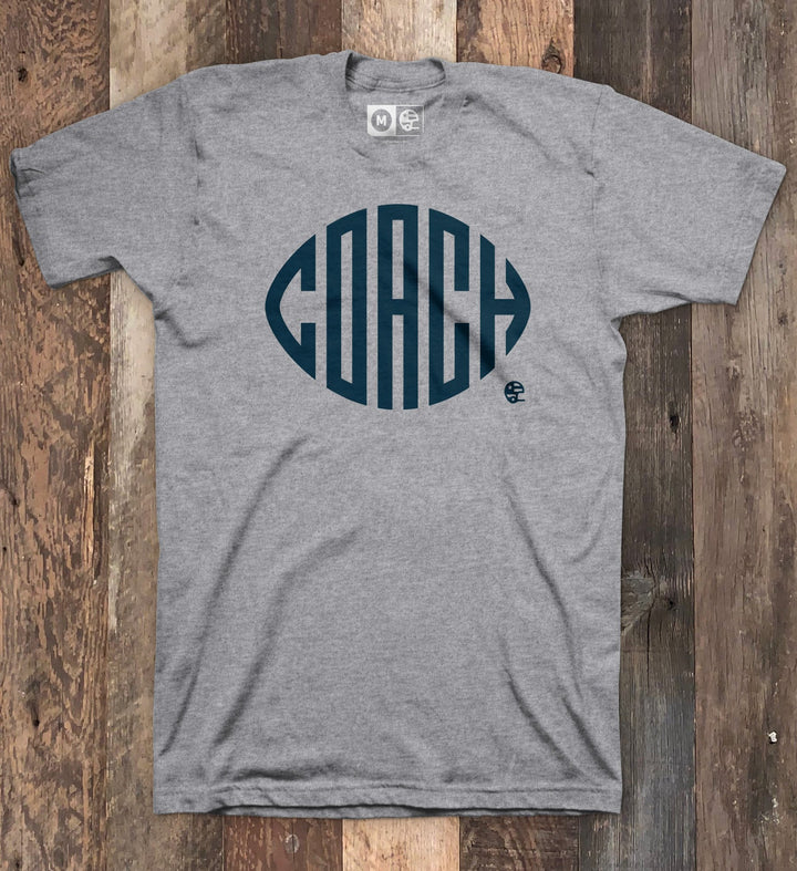Football Coach Heather Grey T-shirt