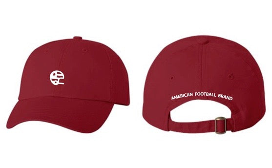 AFB Dad Hat - Cardinal