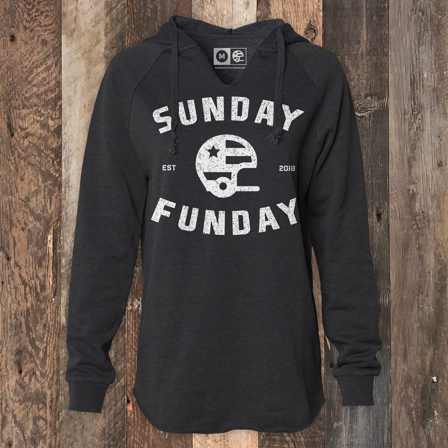 Women's Sunday Funday Football Hoodie