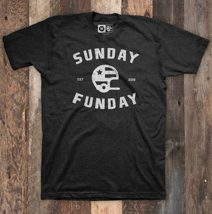 Sunday Funday Black Heather T-shirt