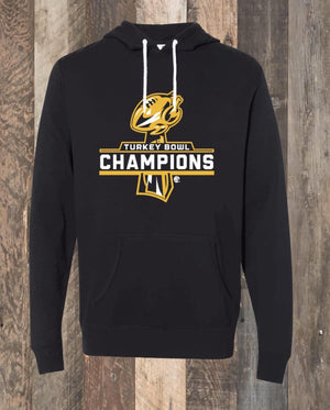 Turkey Bowl Champions Hoodie - Black