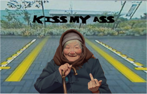 Kiss my ass Backup camera prank, back up camera prank, car camera prank, car prank,