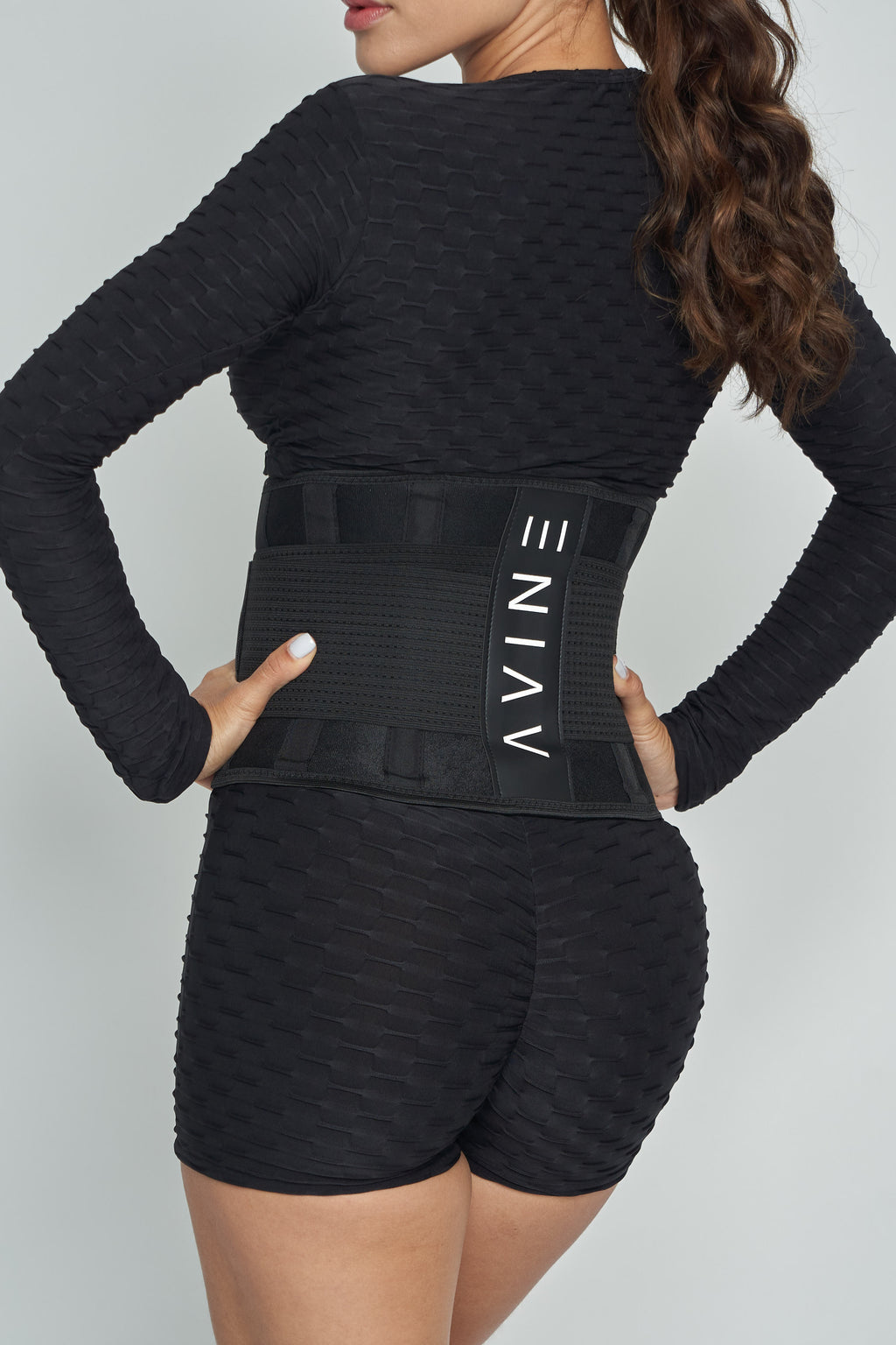 Black Waist Training Belt