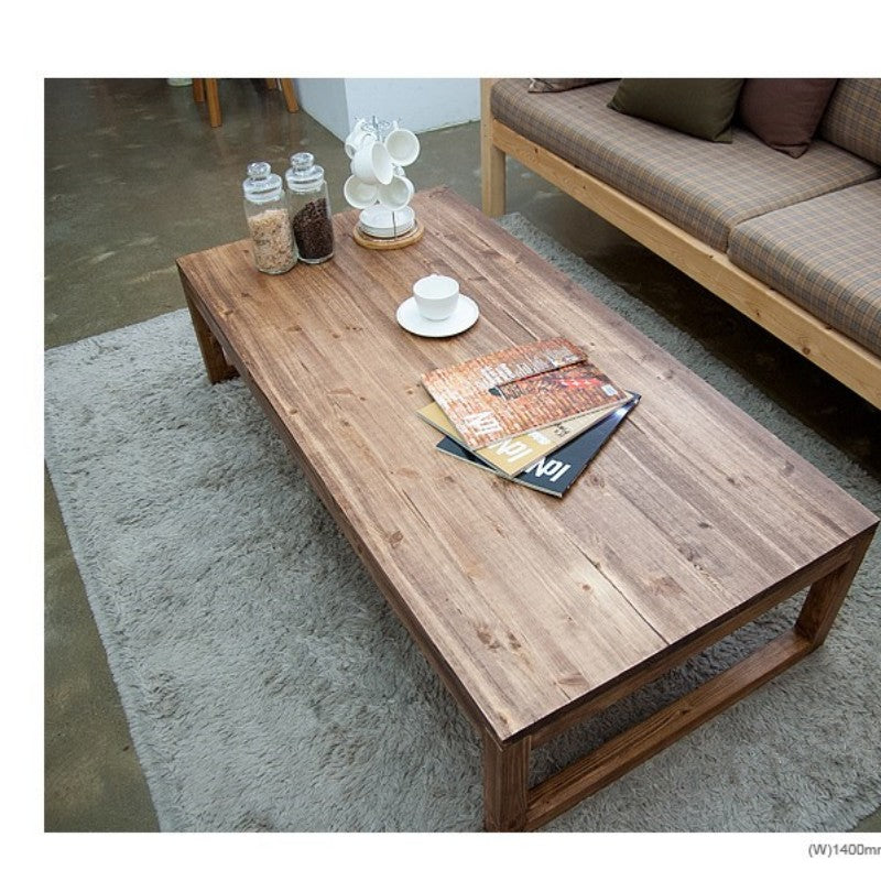 antique rustic wood coffee table - Antique Wood Coffee Tables