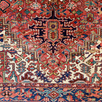 1036 Handwoven Antique Rug 8'6x11'9