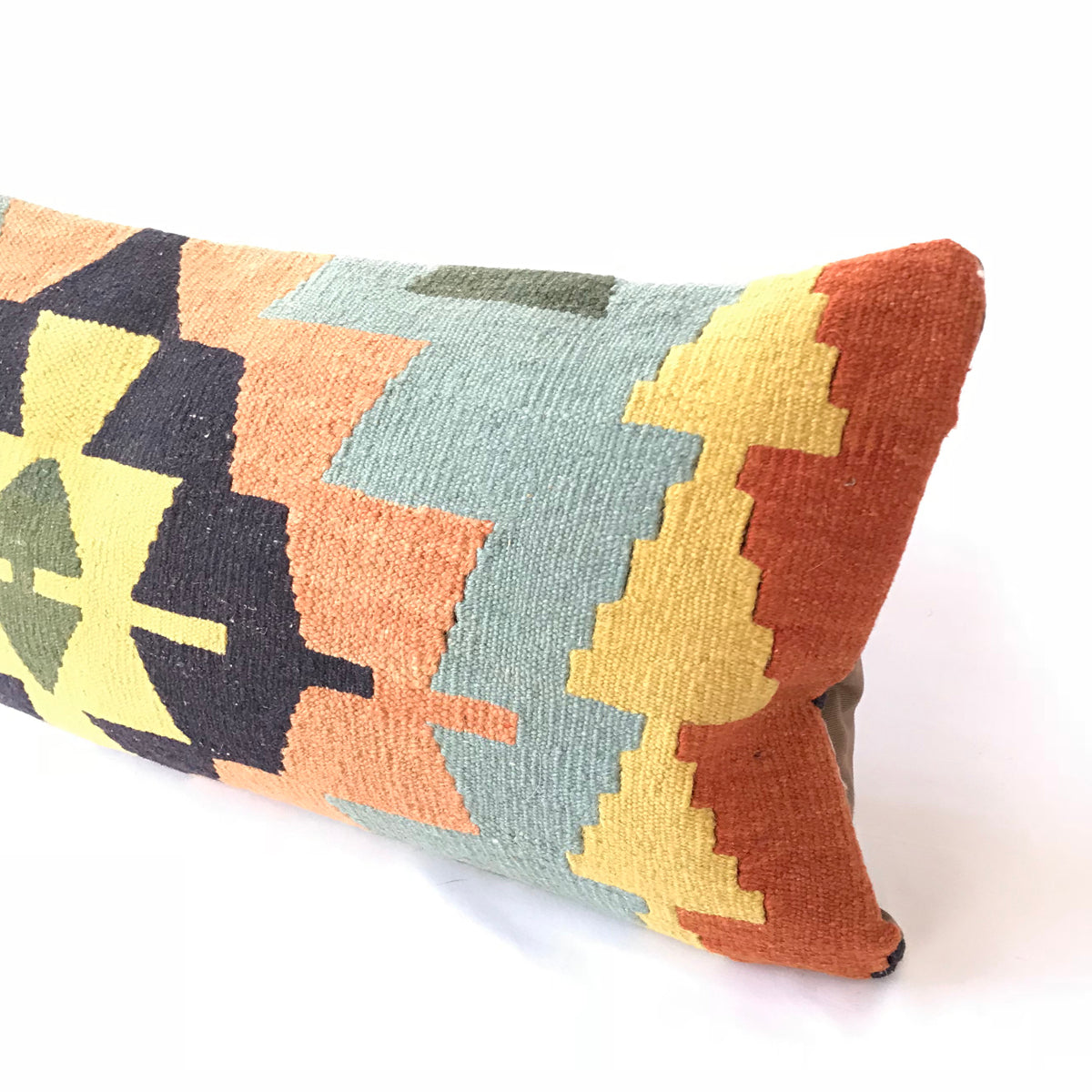 kilim dear product black keaton pillow aztec