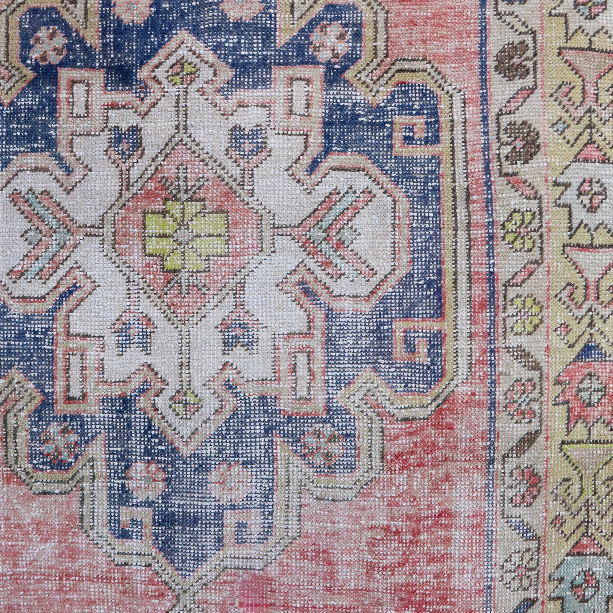 ON HOLD NOT AVAILABLE 1684 Hande 4'7x11'3 Handwoven Vintage Rug