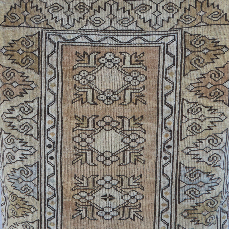 ON HOLD BTC 1794 Canan 2'10x4'4 Handwoven Vintage Rug