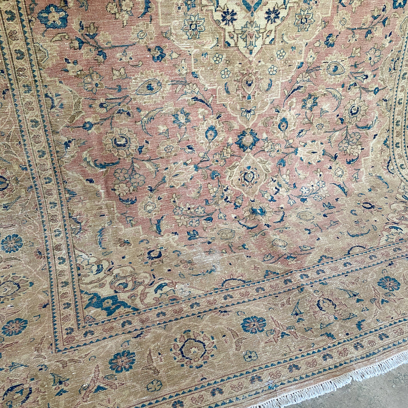 ON HOLD 2022 Handwoven Vintage Rug 7'10x11