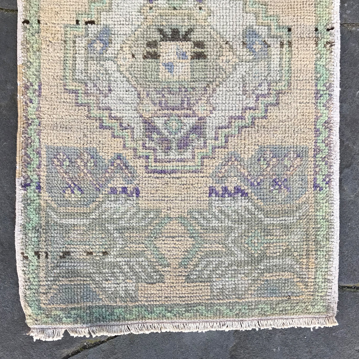 24 Small Handwoven Vintage 19x34