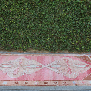 2235 Canan 4'8x12'1 Handwoven Vintage Rug