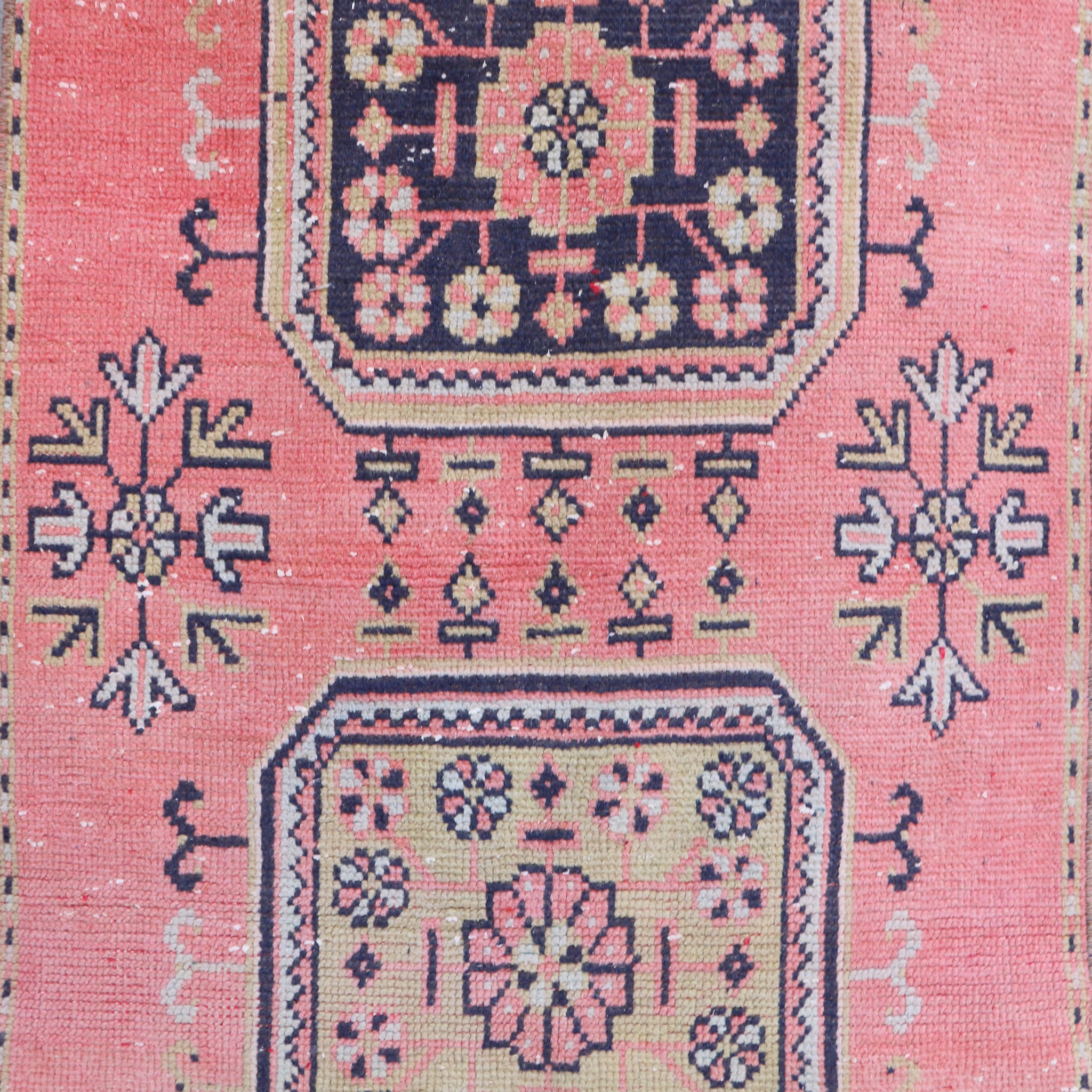 ON HOLD NOT AVAILABLE 2280 Lale 2'10x11'8 Handwoven Vintage Rug