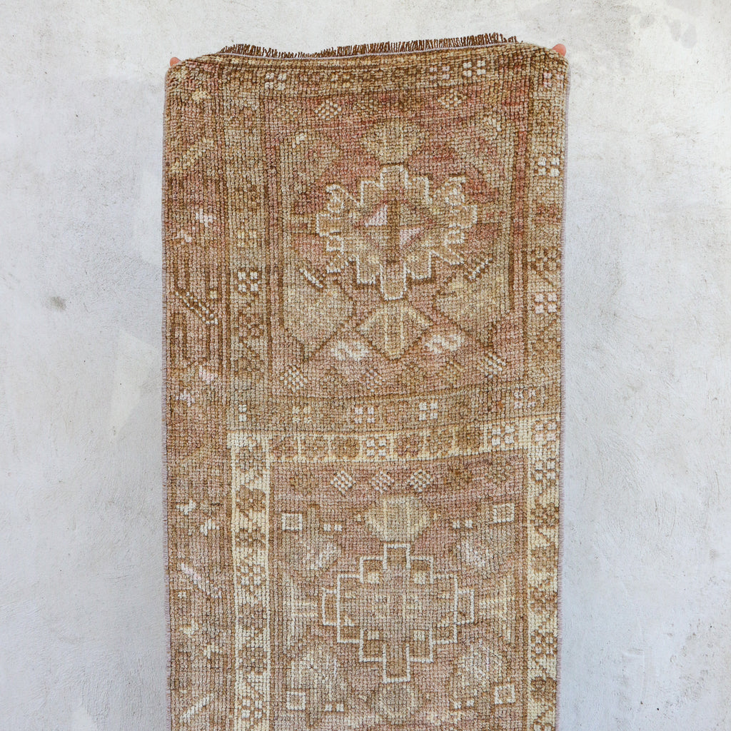 ON HOLD 2291 Nuray 1'11x7'3 Handwoven Vintage Rug