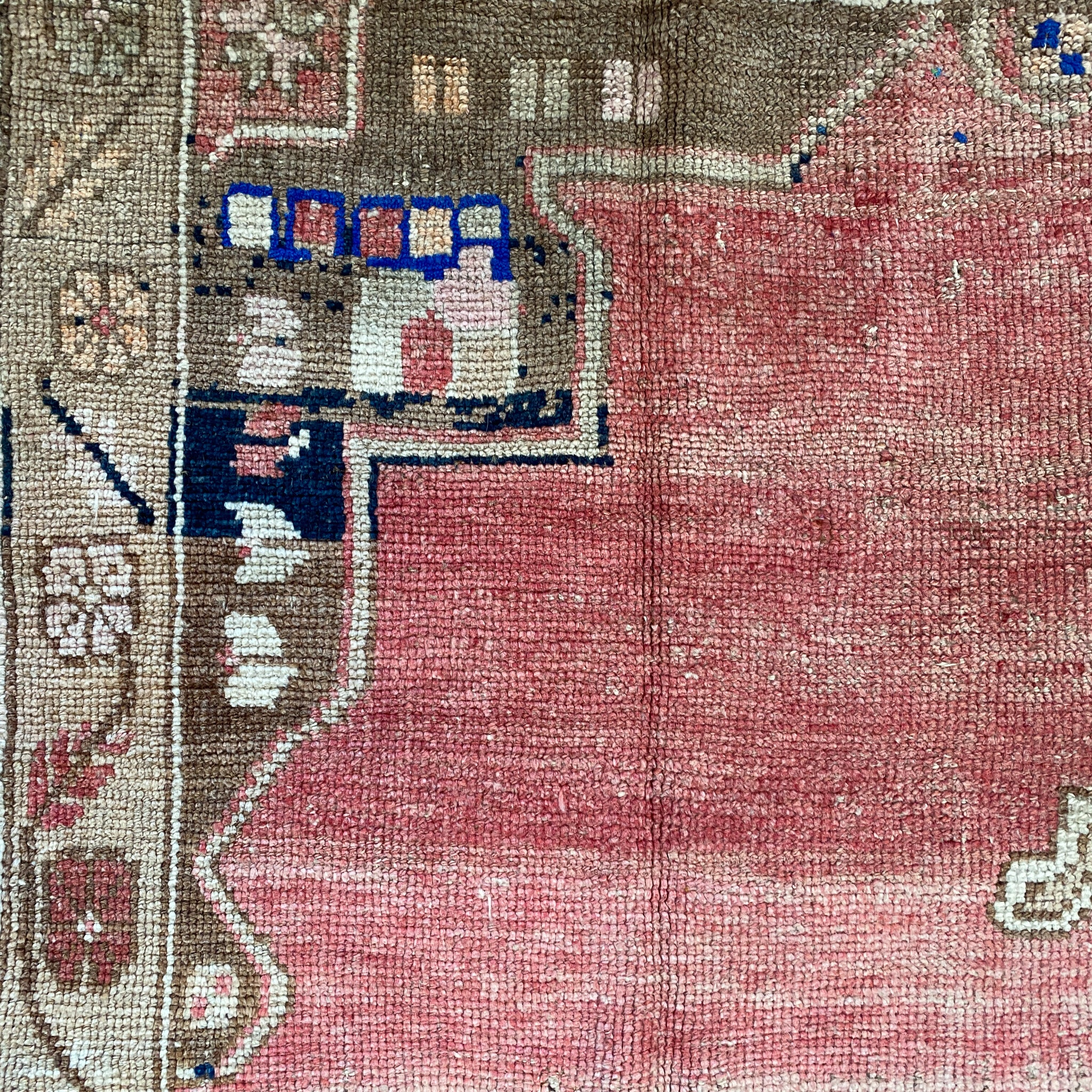 ON HOLD WP 2364 Handwoven Vintage Rug 5'5x12'3