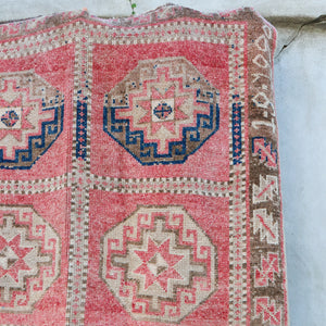 2394 Dilay 5x11'10 Handwoven Vintage Rug