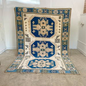 CURRENTLY ON HOLD/NOT AVAILABLE FOR PURCHASE  SR 2611 Handwoven Vintage Rug 6'11x10'2